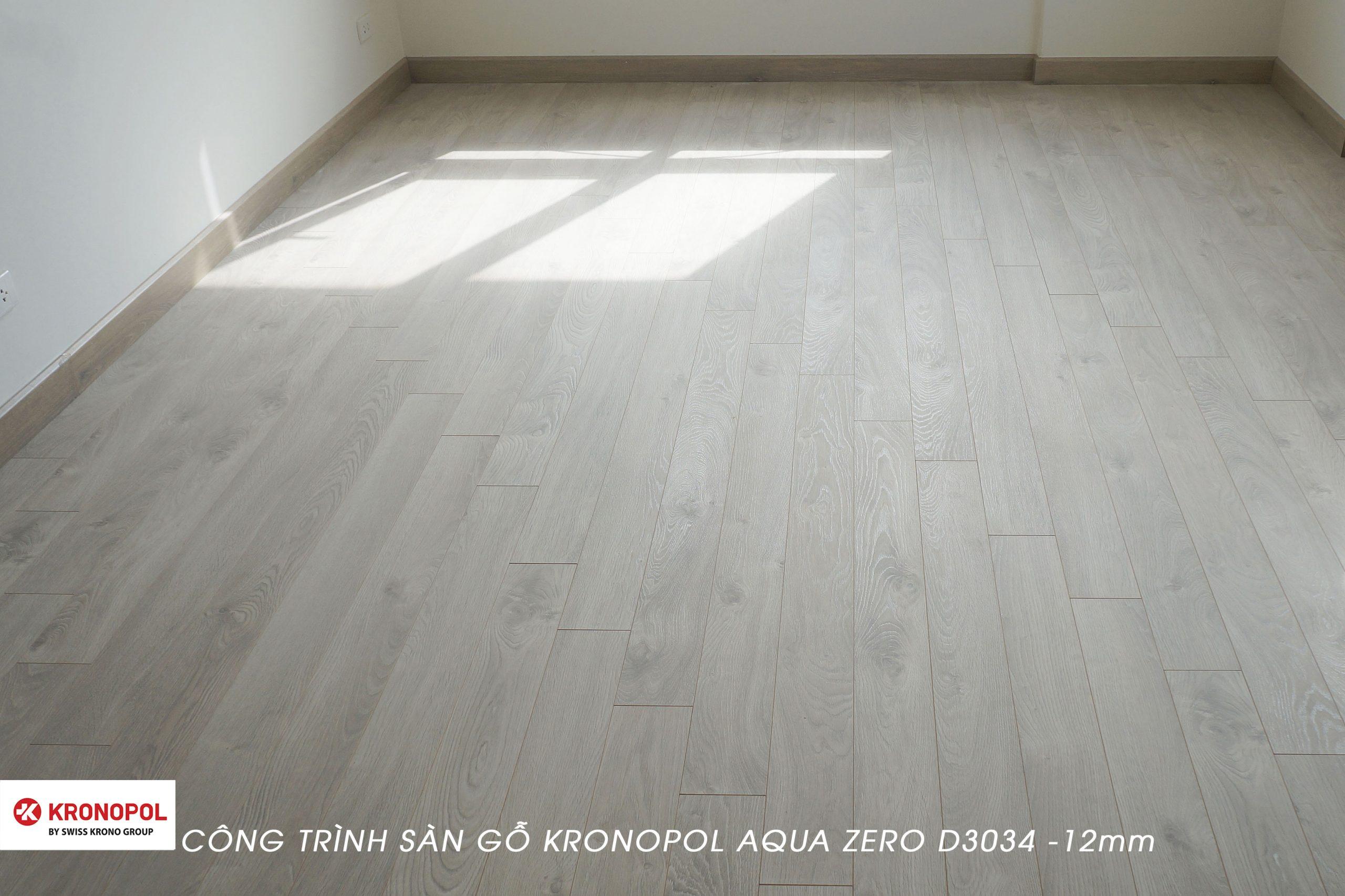 Với gàm màu trắng sữa, Kronopol D3034 giúp phòng ngủ trở nên rộng hơn