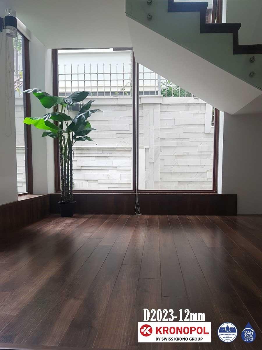 hình ảnh công trình sàn gỗ kronopol