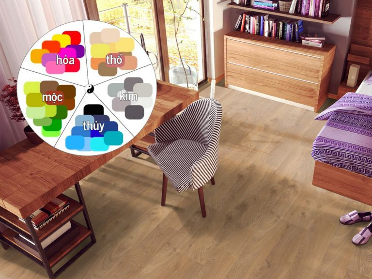 Cách chọn màu sàn gỗ phù hợp