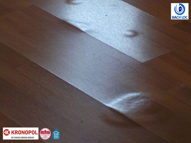 Khắc phục lỗi của sàn gỗ: phồng rộp do ngấm nước