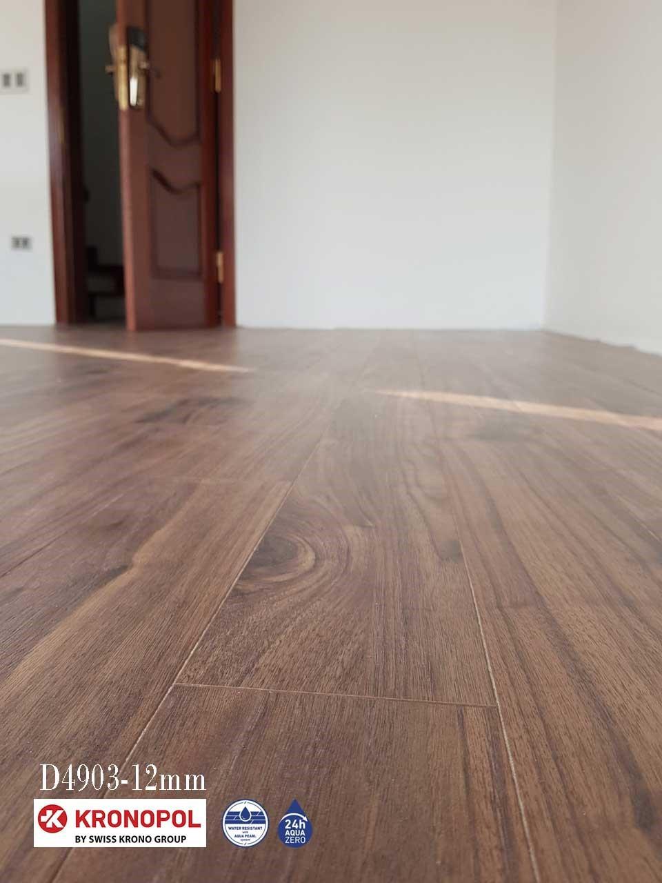Công trình sàn gỗ Kronopol