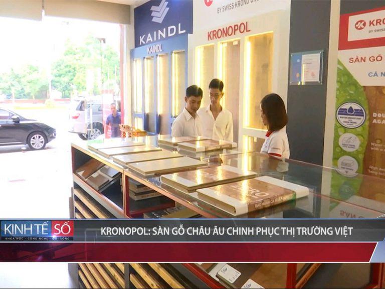 Hai thương hiệu sàn gỗ Kronopol và Kaindl gây tiếng vang lớn trên thị trường sàn gỗ Việt