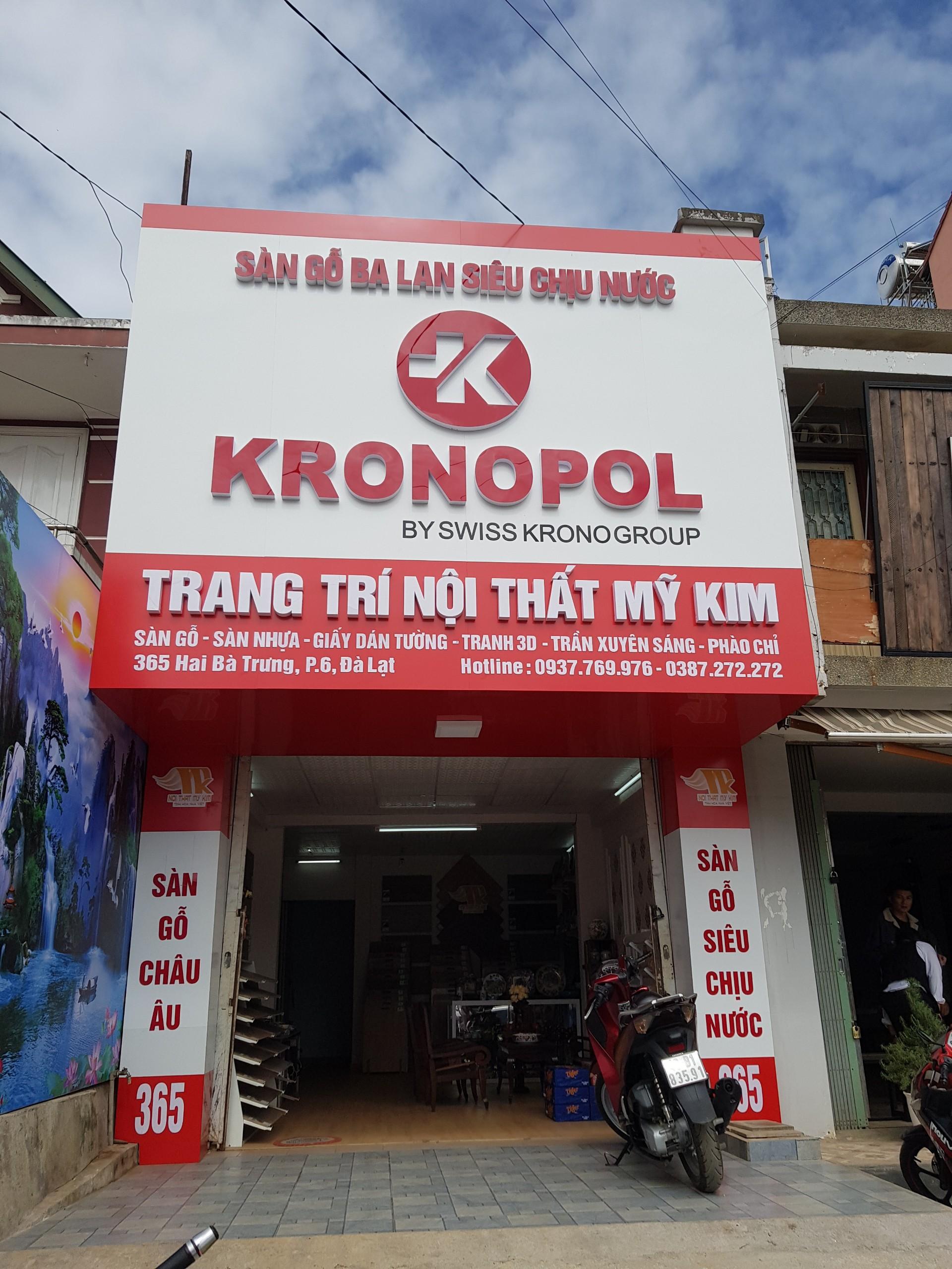 Đại lý sàn gỗ Kronopol tại Đà Lạt