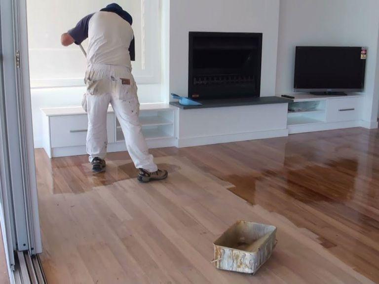 Kết thúc quy trình lát sàn gỗ