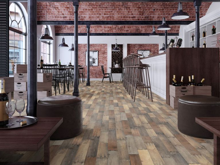 Màu sắc sàn gỗ