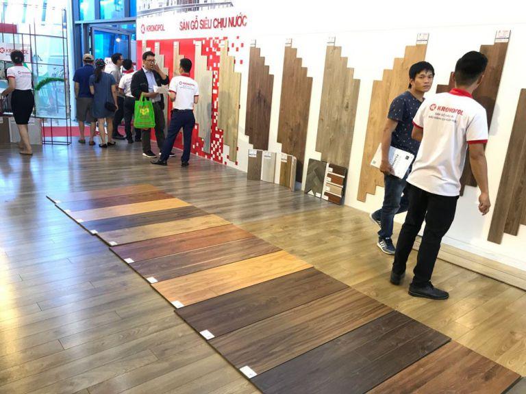 Màu sắc sàn gỗ tự nhiên