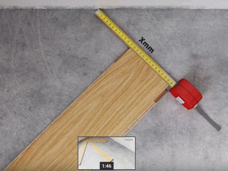 Quy trình lát sàn gỗ kiểu xương ca
