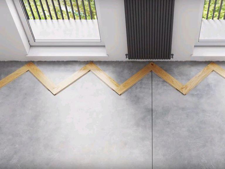 Cách lát sàn gỗ xương cá