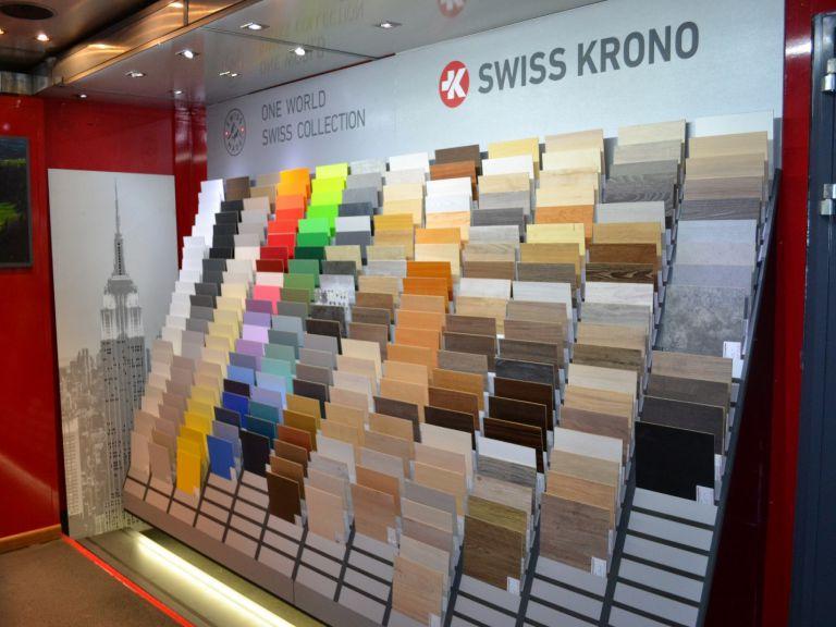 Hàng trăm map màu của sàn gỗ Kronopol