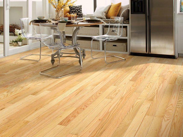 Sàn gỗ gam màu vàng sáng