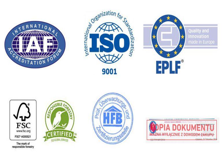 sàn gỗ Kronopol đạt các chứng nhận quốc tế