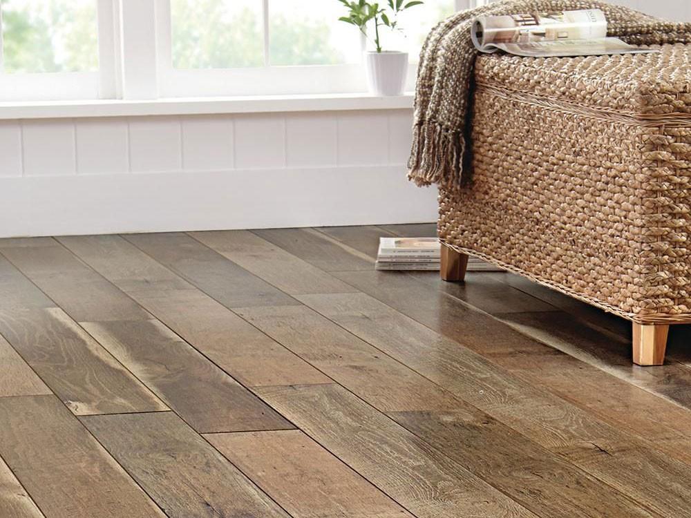 Sàn gỗ gam màu nâu sáng