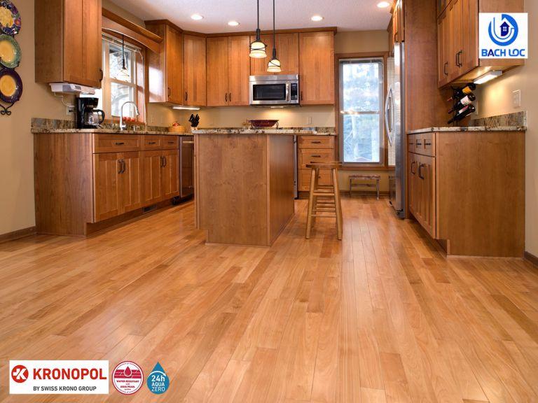 Sàn gỗ giúp tăng độ sang trọng và đẳng cấp