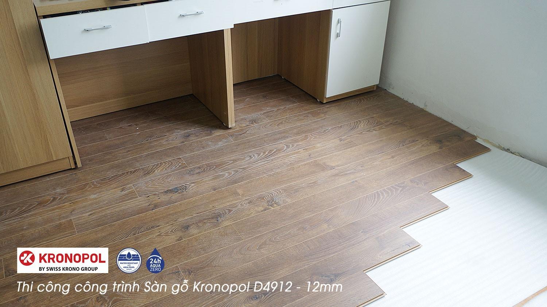 hình ảnh Thi công công trình sàn gỗ