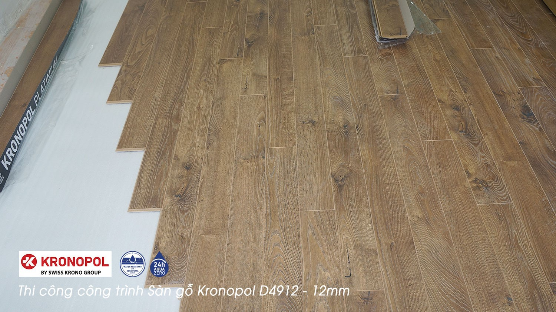 Thi công công trình sàn gỗ