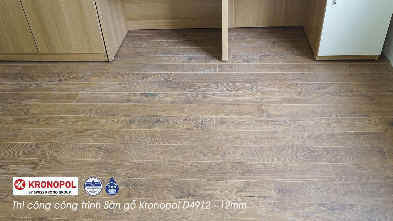 ảnh Thi công công trình sàn gỗ