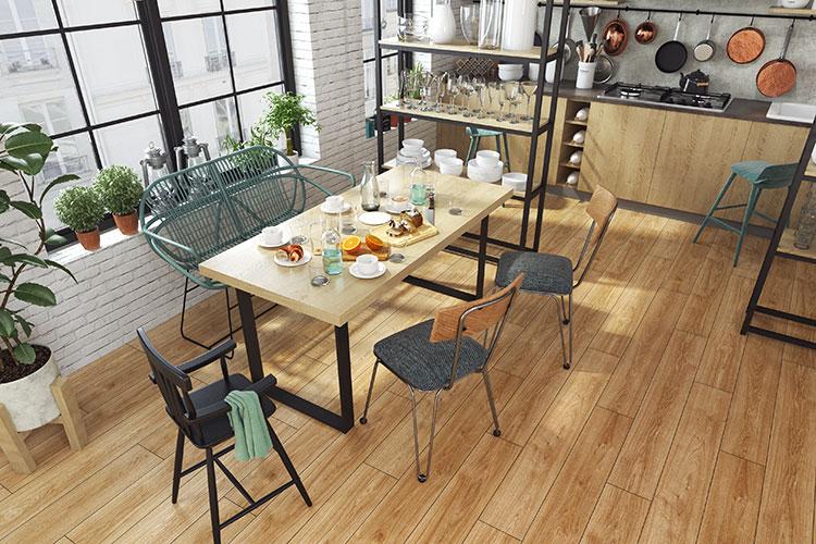 chọn lựa chọn màu sàn gỗ phù hợp với phong thủy