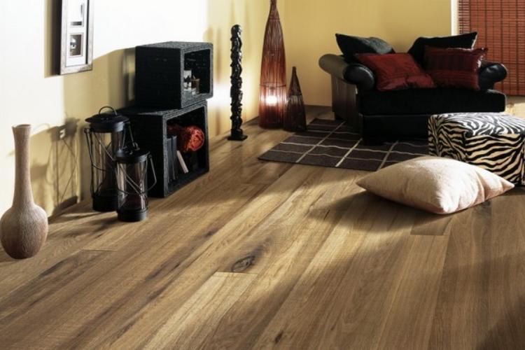 lựa chọn màu sàn gỗ theo phong thủy