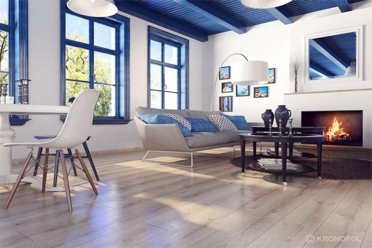 Sàn gỗ Kronopol được thiết kế và sản xuất tỉ mỉ