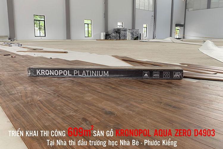 sàn gỗ kronopol chất lượng