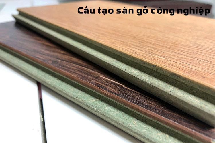 Cấu tạo của sàn gỗ công nghiệp Châu Âu