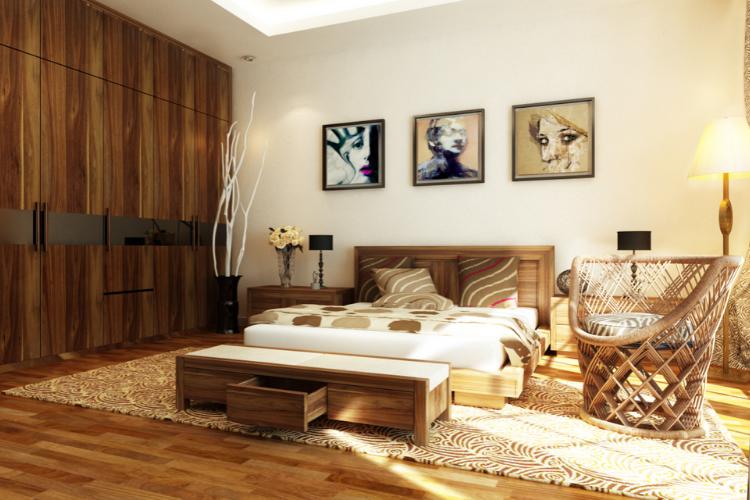 Lát sàn gỗ phòng ngủ