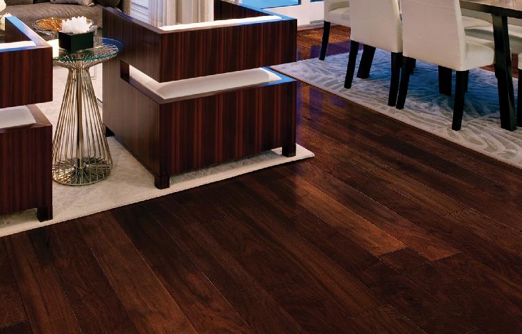 Sàn gỗ tối màu