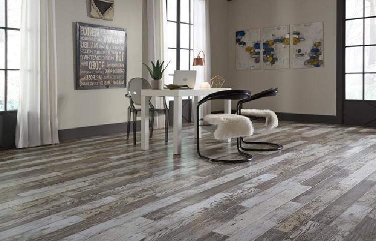 Sàn gỗ màu tự nhiên