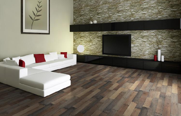 Chọn màu sàn gỗ theo phong cách kết hợp
