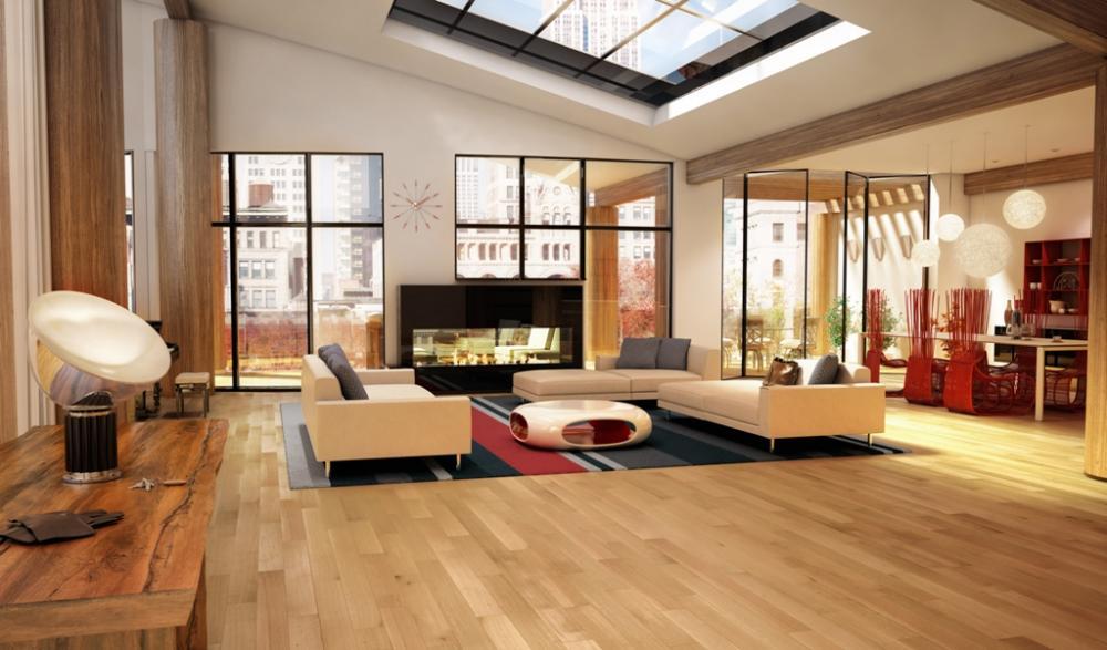 Sàn gỗ công nghiệp nên được sử dụng ở những không gian nào?