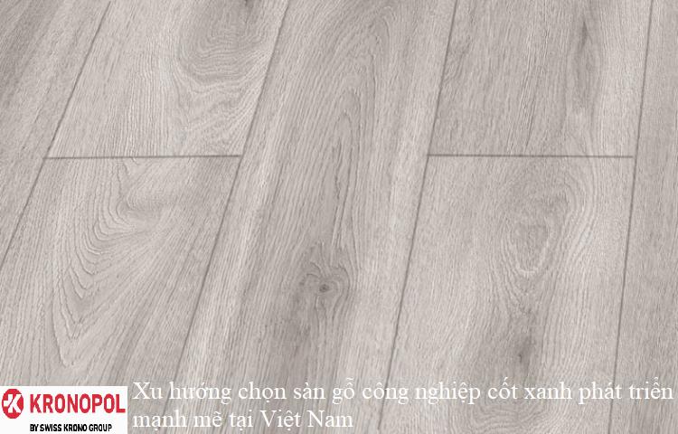 Xu hướng chọn sàn gỗ công nghiệp cốt xanh phát triển mạnh mẽ tại Việt Nam
